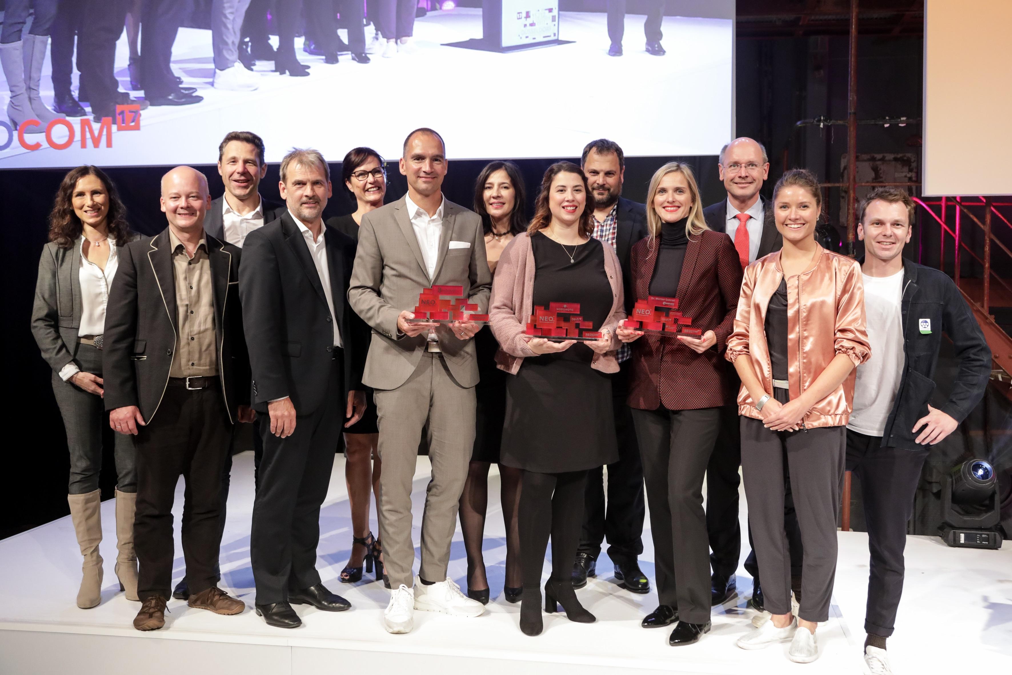Rose Bikes belegt zweiten Platz beim NEO Award 2017 - Branchenpreis ehrt Leuchtturm-Konzepte des digitalen Handels