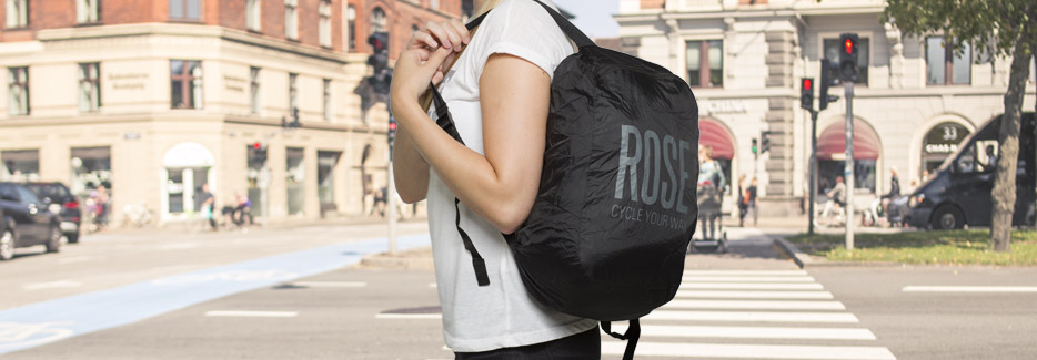 foldable ROSE backpack