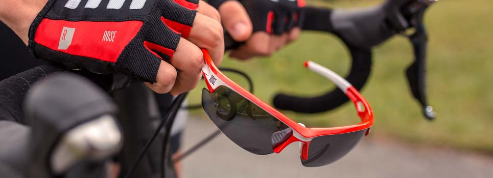 Cycling glasses, sports glasses, sunglasses and accessories