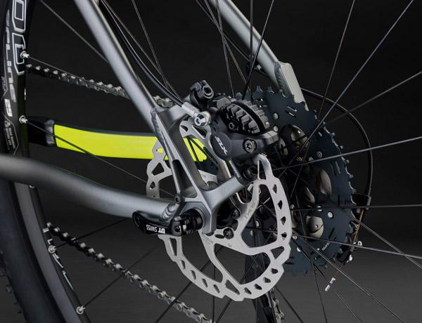 Bromsa! – Shimano SLX -skivbromsar bidrar med ytterligare 25% bromskraft