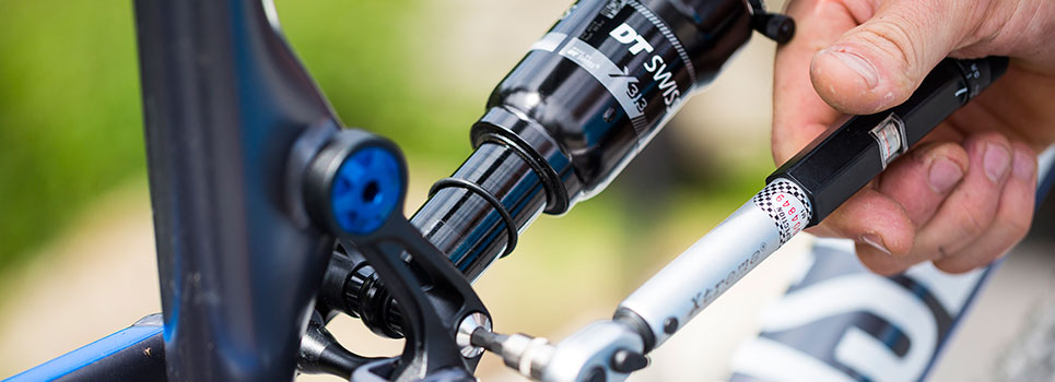Bicycle rear shocks for a more comfortable ride