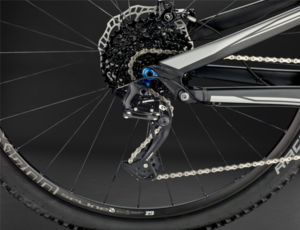 Reliable, robust, developed in Germany and equipped with 22 gears: SRAM GX 2x11 drive