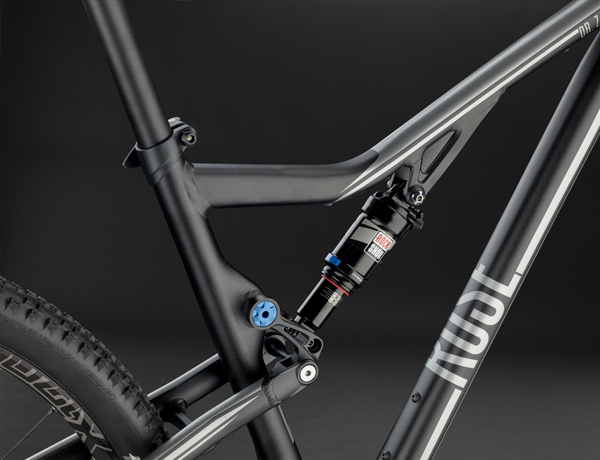 Everything under control: Rock Shox Monarch RT3, a lightweight and powerful rear shock