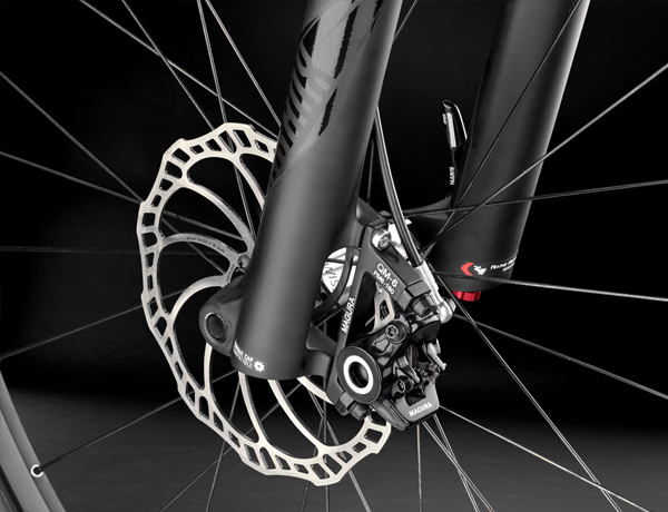 Braking technology from Germany: The Magura MT6 made in Bad Urach is known for sophisticated braking technology
