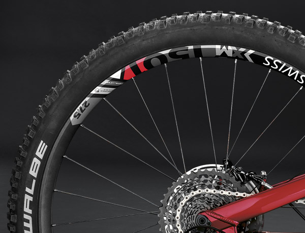 Powerful, robust, lightweight: top wheels by DT Swiss