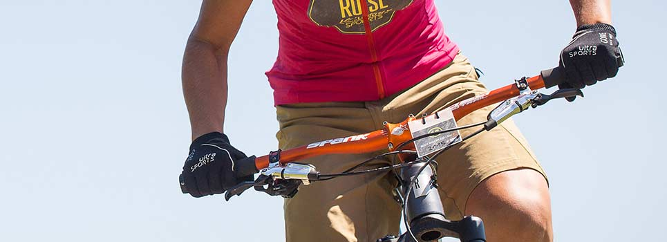 Handlebars for mountain bikes, city and touring bikes
