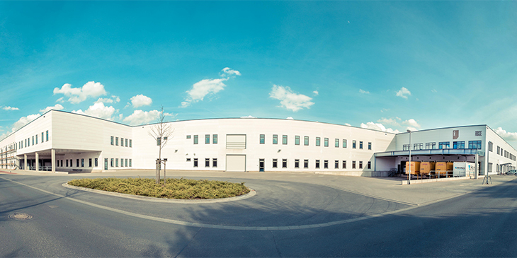 Modern logistics centre on 20.000 m²
