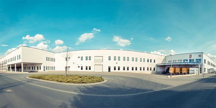 Modernes Logistik- und Versandzentrum auf 20.000 m²