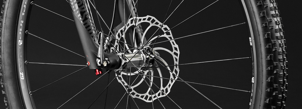 Disc brakes for MTBs, touring, road and cross bikes