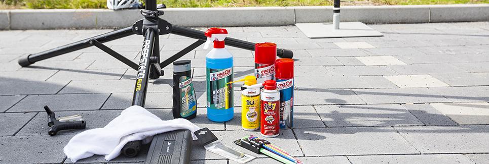 Fahrrad Reinigung und Fahrrad Pflege