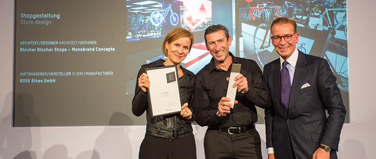 ROSE BIKETOWN München mit Designer-Preis ausgezeichnet