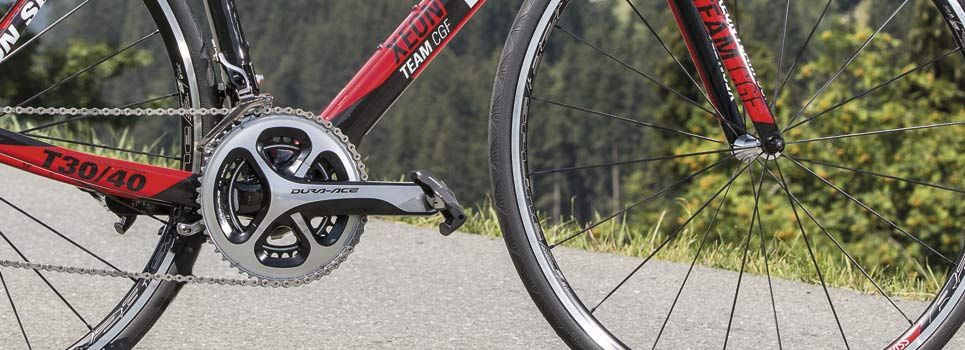 Double road bike cranksets