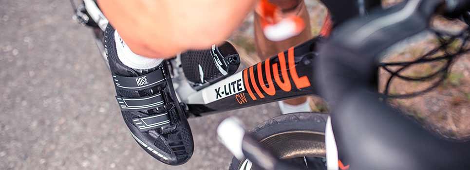 Raceschoenen: wielersport van hoofd tot voeten