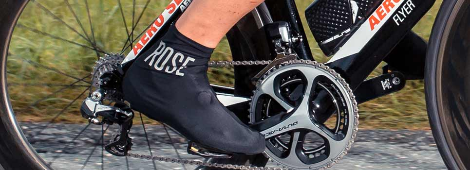 Cycling overshoes: Cycling overshoes for wind and weather