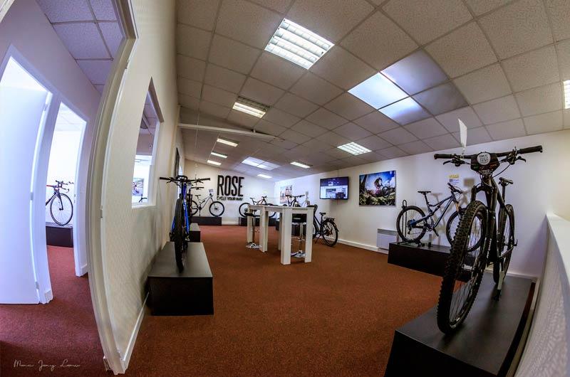 Show-Room ROSE Bikes Paris
