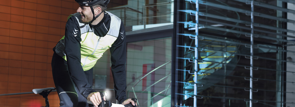 Reflective cycling gear / Reflective clothes
