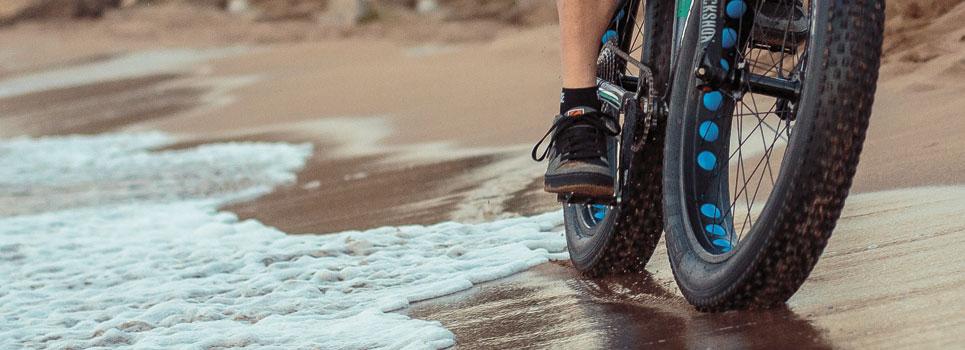 Wasserdichte Fahrradsocken für regnerische Tage
