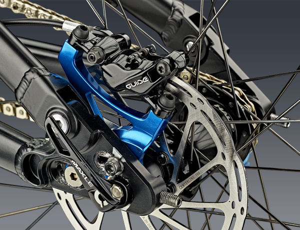 High individuality and a high-class brake: SRAM Guide R disc brake