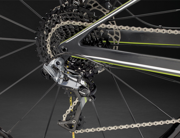 Highly precise gear shifting: SRAM XX1 rear derailleur