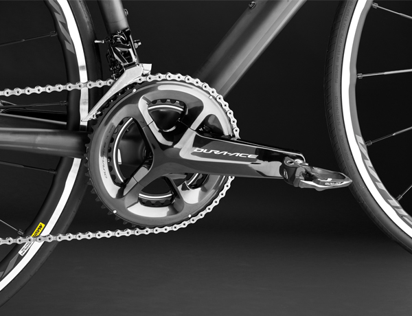 The brand-new Dura-Ace 9100 crank – best power transfer and cult design