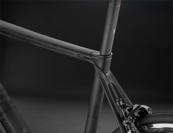 Integrated design at the saddle clamp, the new distinctive feature of ROSE