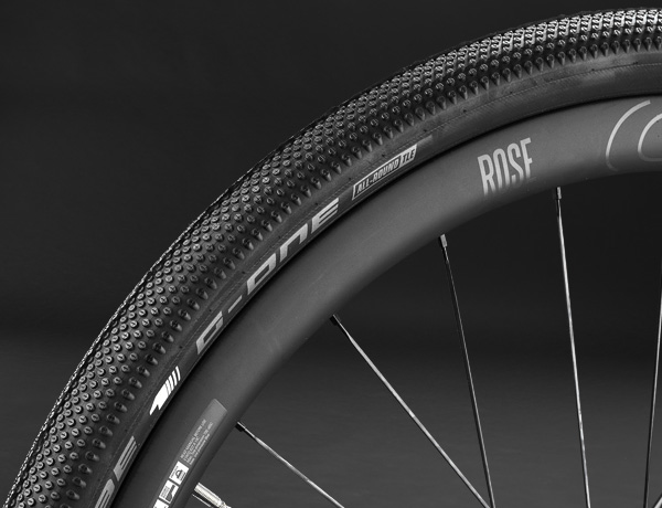 The benchmark in gravel riding: the Schwalbe G-One Allround tyre with MicroSkin and TL Easy.