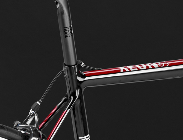 State-of-the-art: compact and elegant thanks to a shorter seat tube and filigree seat stays