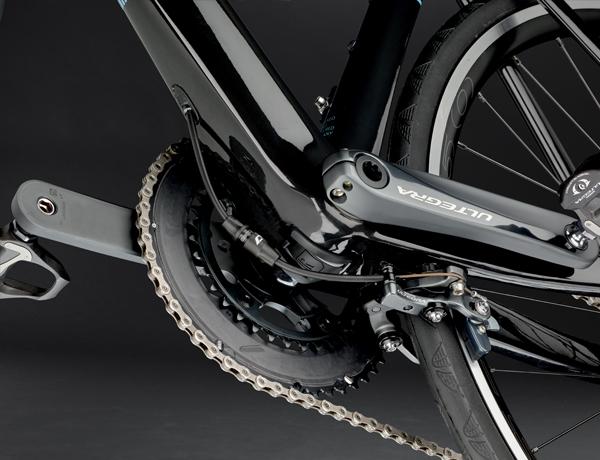 Fremragende bremsekraft; DirectMount bremse under krankboksen