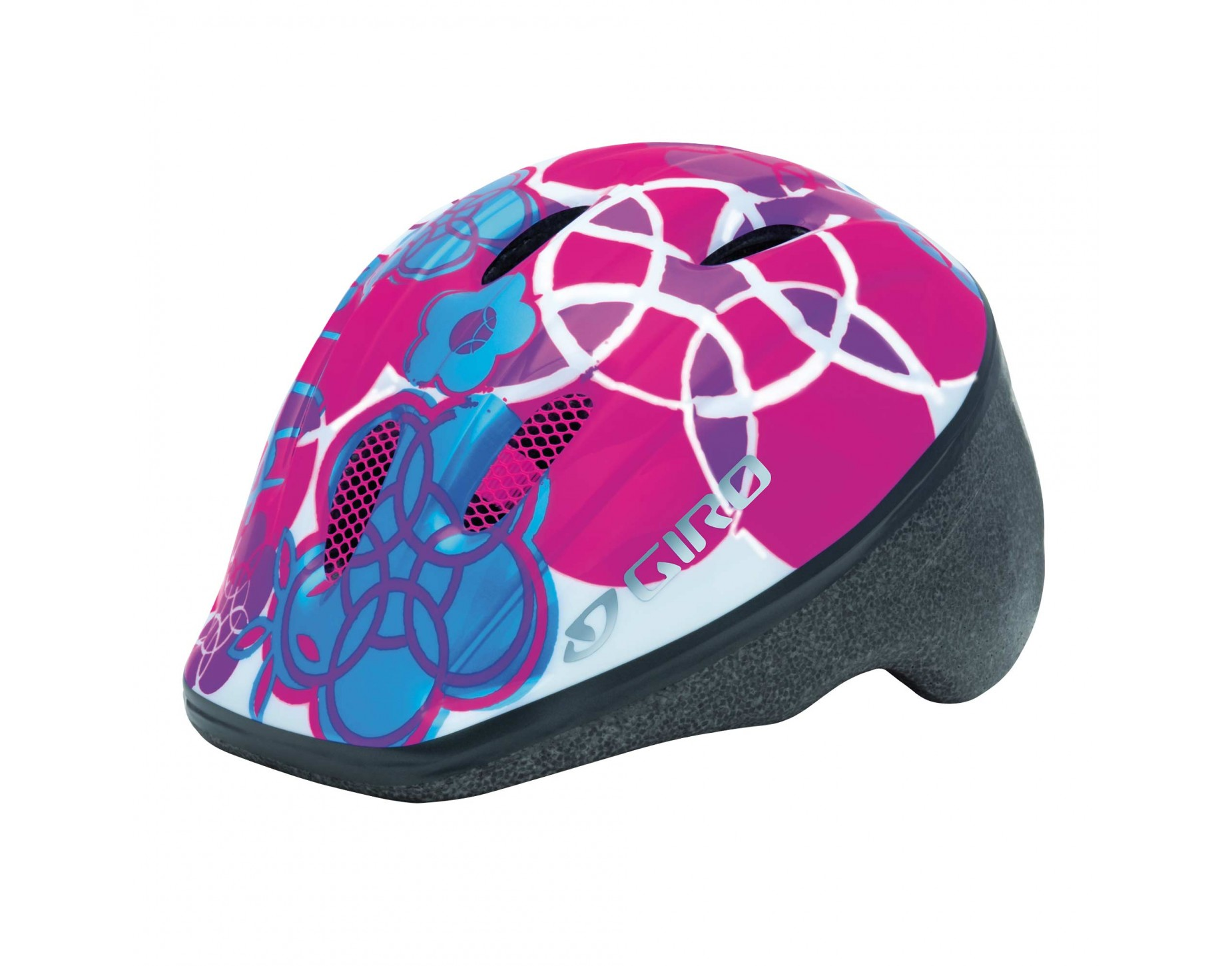 GIRO kinderhelm ME 2 white pink elements