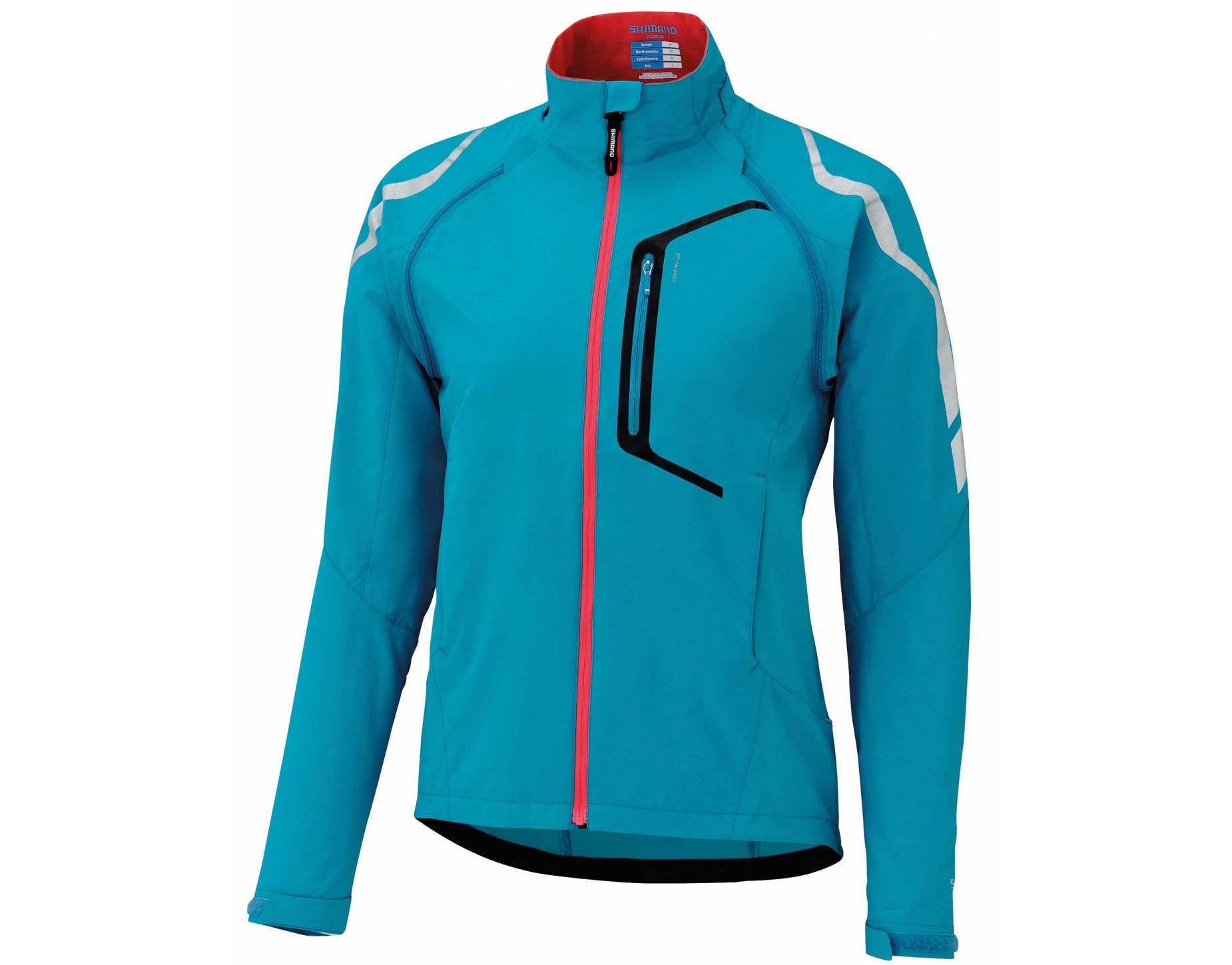 shimano hybrid women s windproof cycling jacket. Black Bedroom Furniture Sets. Home Design Ideas