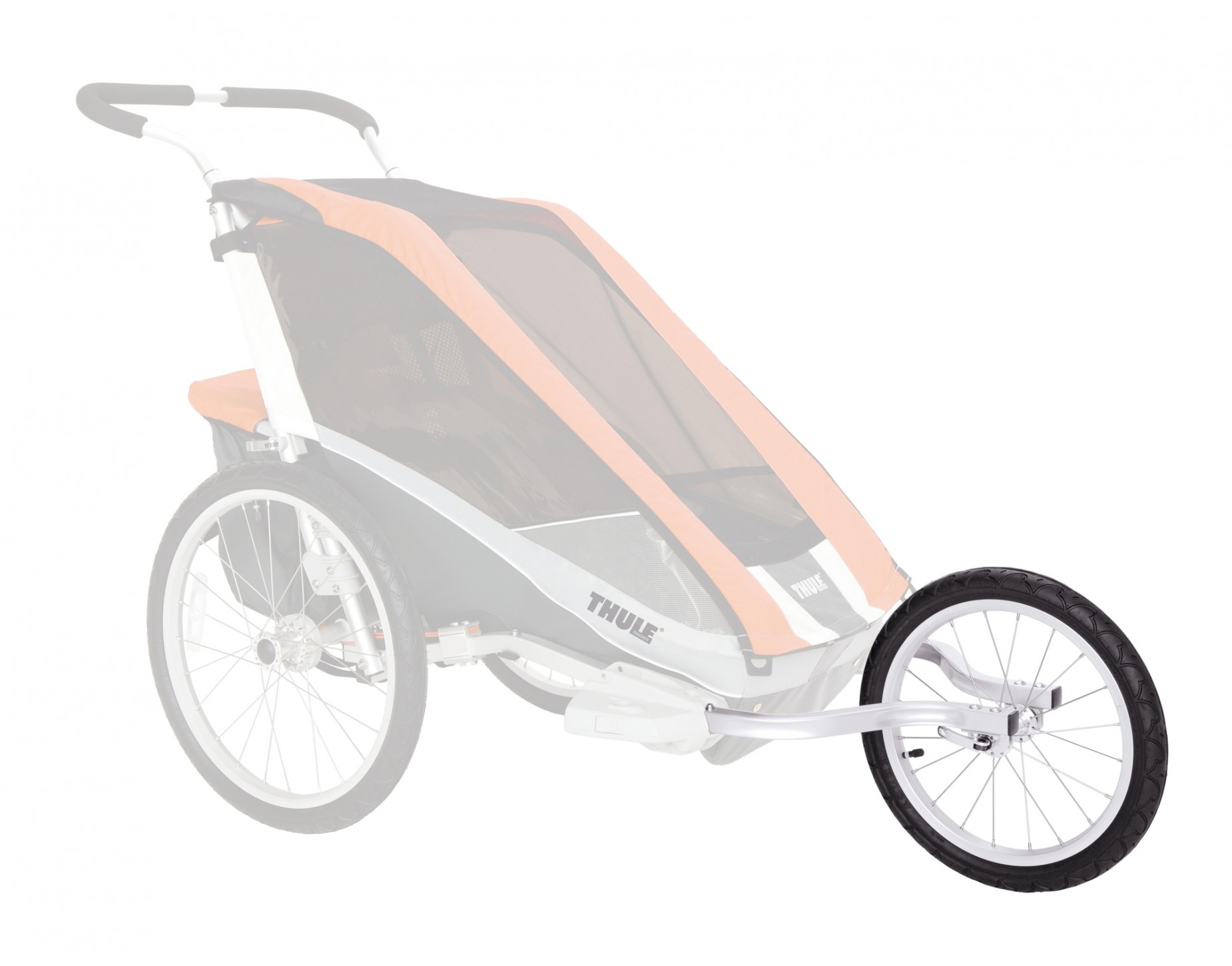 thule chariot jogging kit for cougar 1 2 everything you need rose bikes. Black Bedroom Furniture Sets. Home Design Ideas
