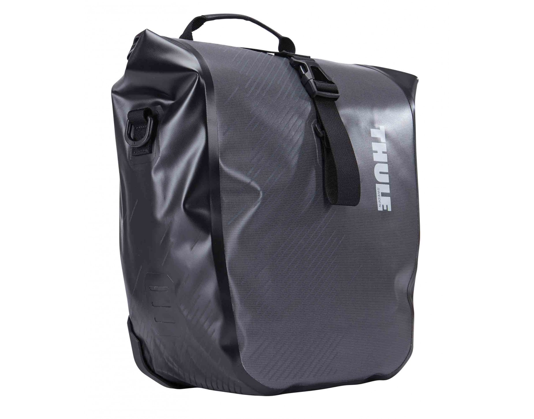 thule pack n pedal shield pannier small. Black Bedroom Furniture Sets. Home Design Ideas
