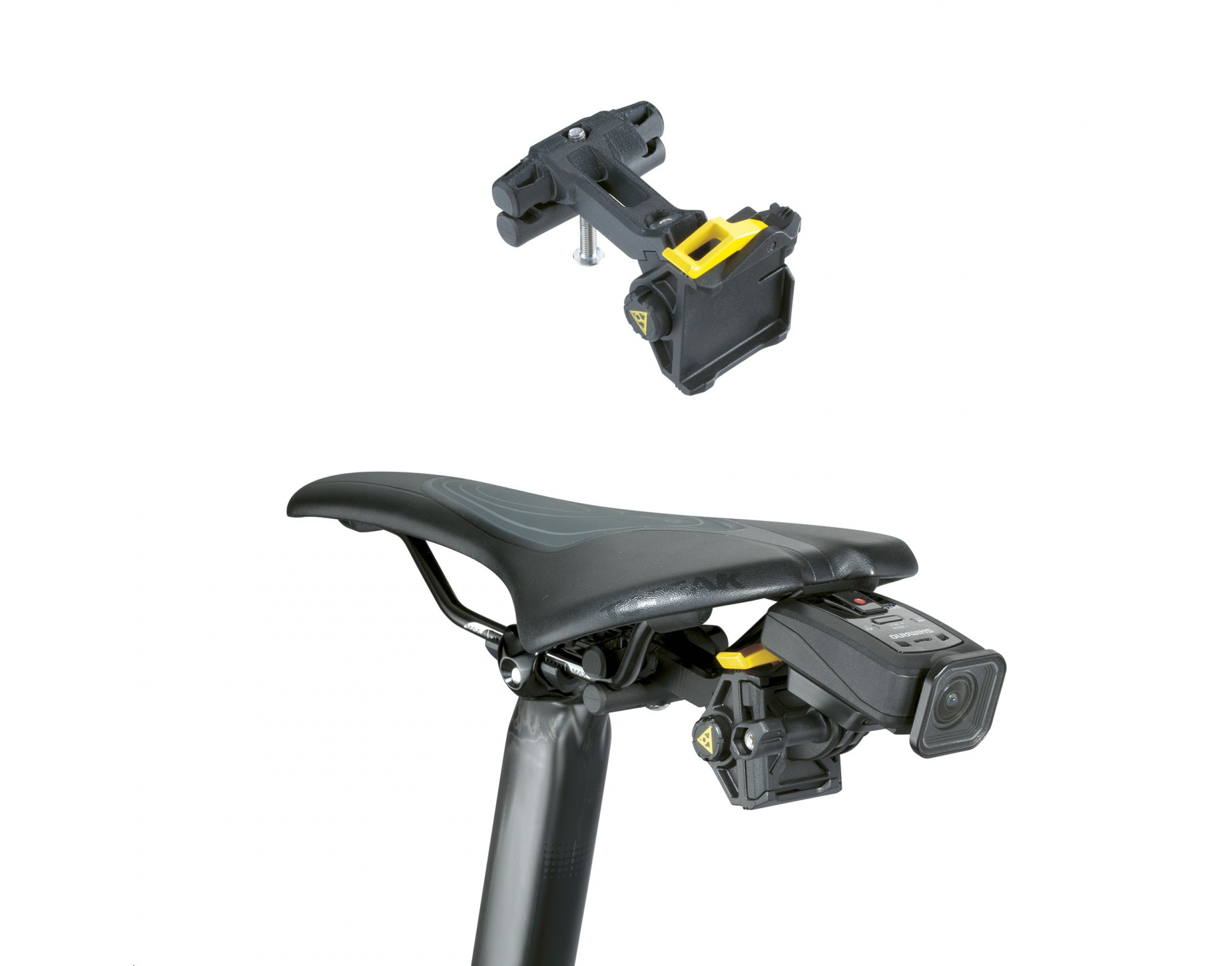 topeak qr modular sport camera multi mount support de cam ra de premier choix rose bikes. Black Bedroom Furniture Sets. Home Design Ideas