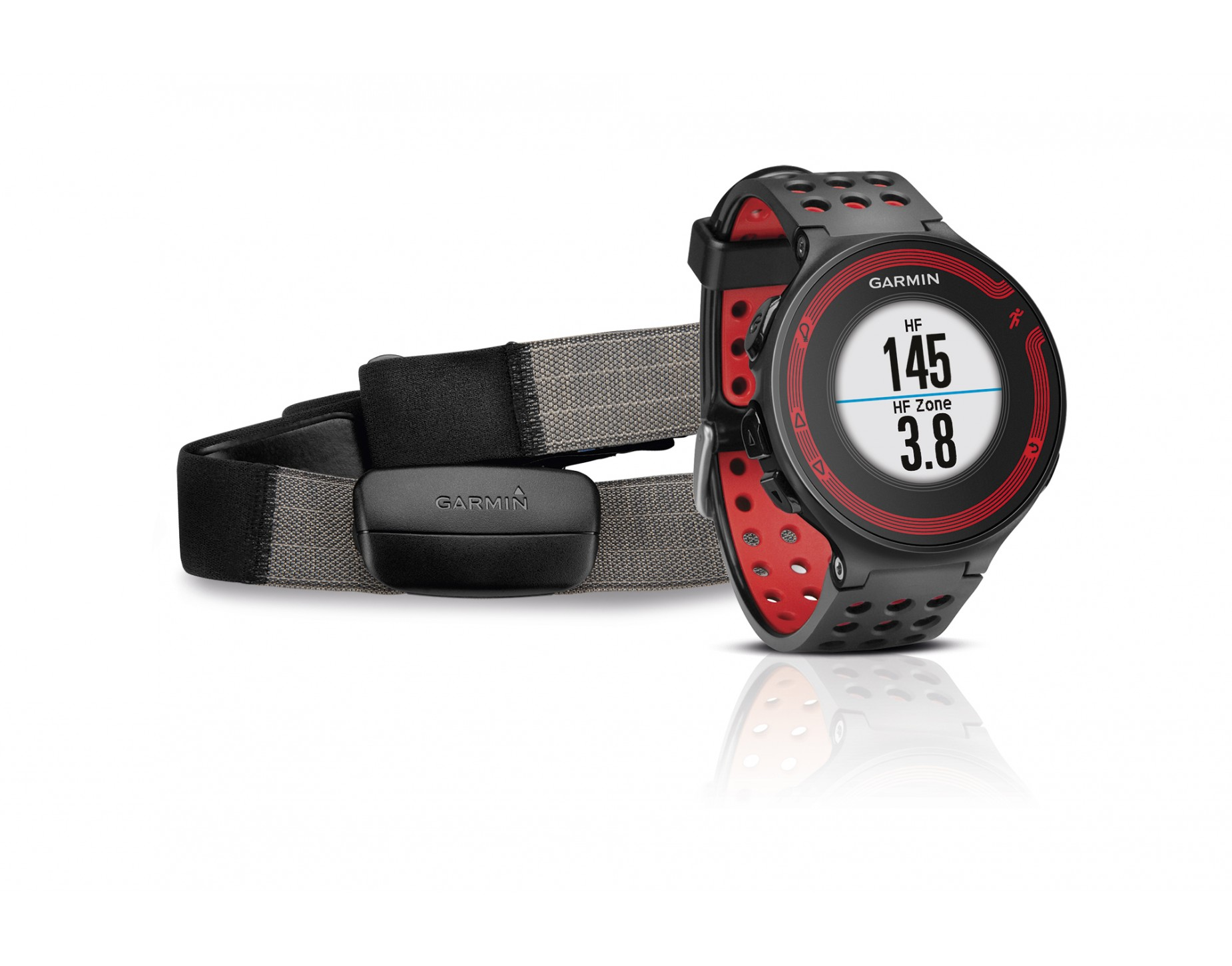 Garmin Forerunner 220 Gps Watch With Heart Rate Chest Strap