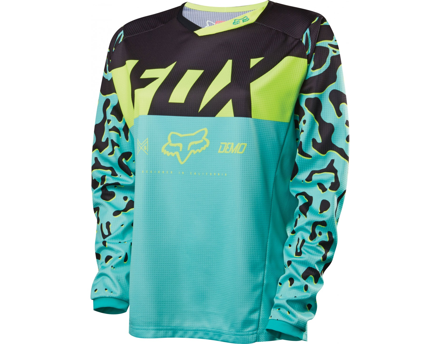 fox demo dh long sleeved cycling shirt for women. Black Bedroom Furniture Sets. Home Design Ideas
