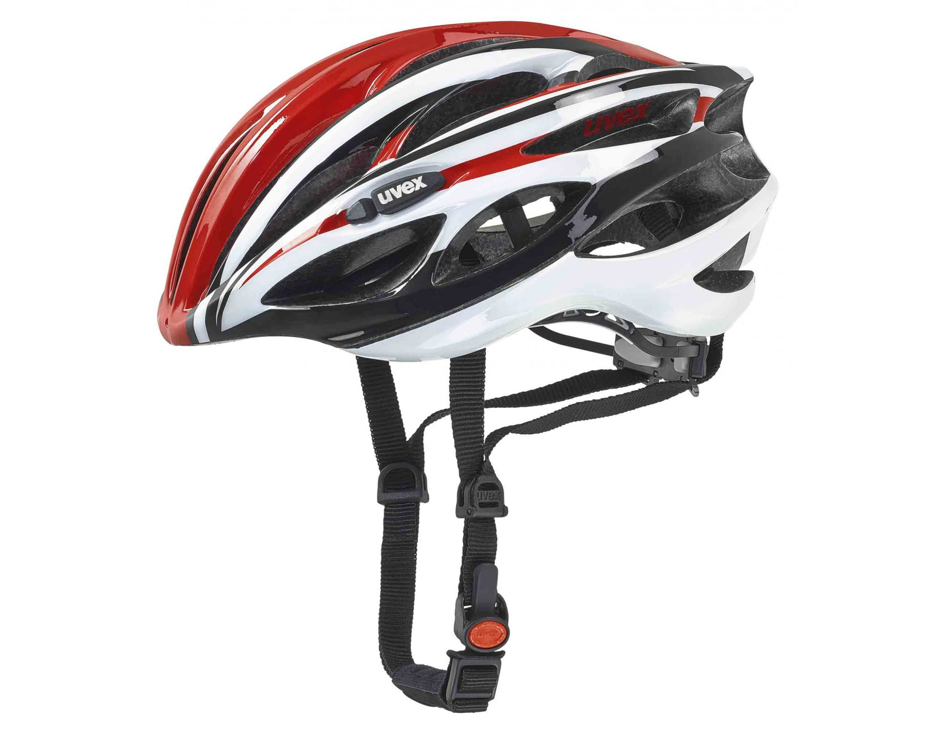 uvex race 1 Helm red white