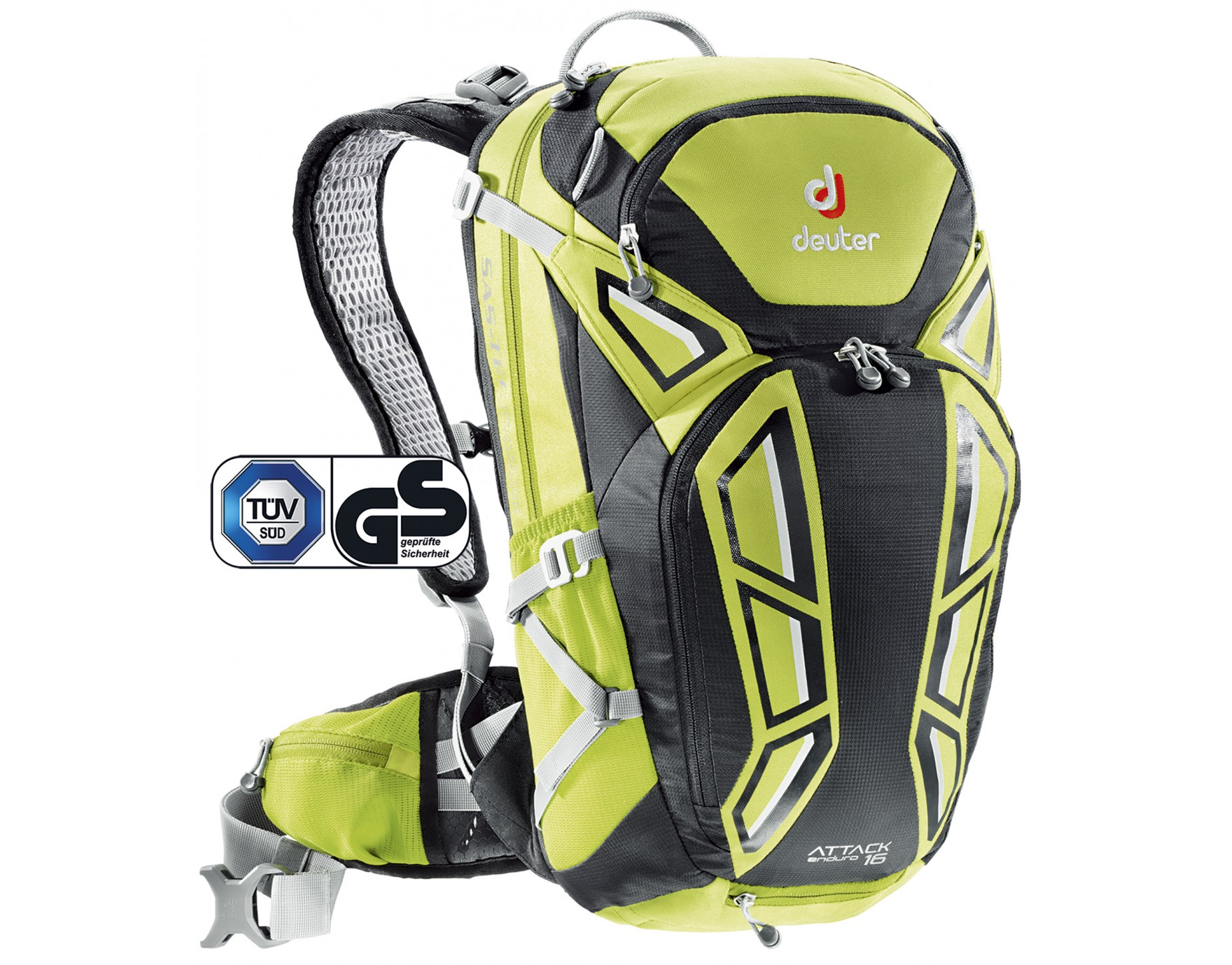 deuter attack enduro 16 rucksack genau was du brauchst. Black Bedroom Furniture Sets. Home Design Ideas
