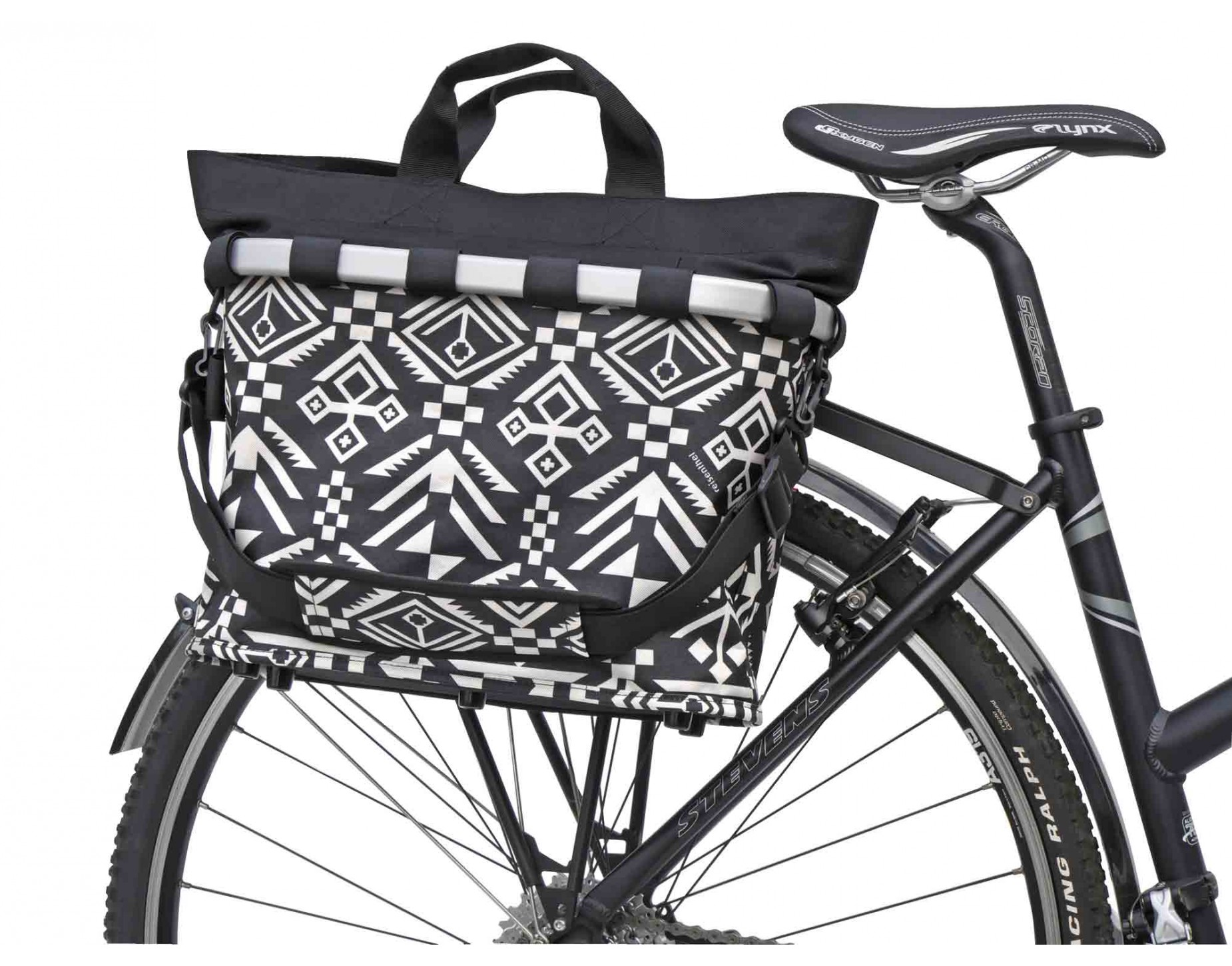 reisenthel bikebasket oval m single pannier bag everything you need rose bikes. Black Bedroom Furniture Sets. Home Design Ideas