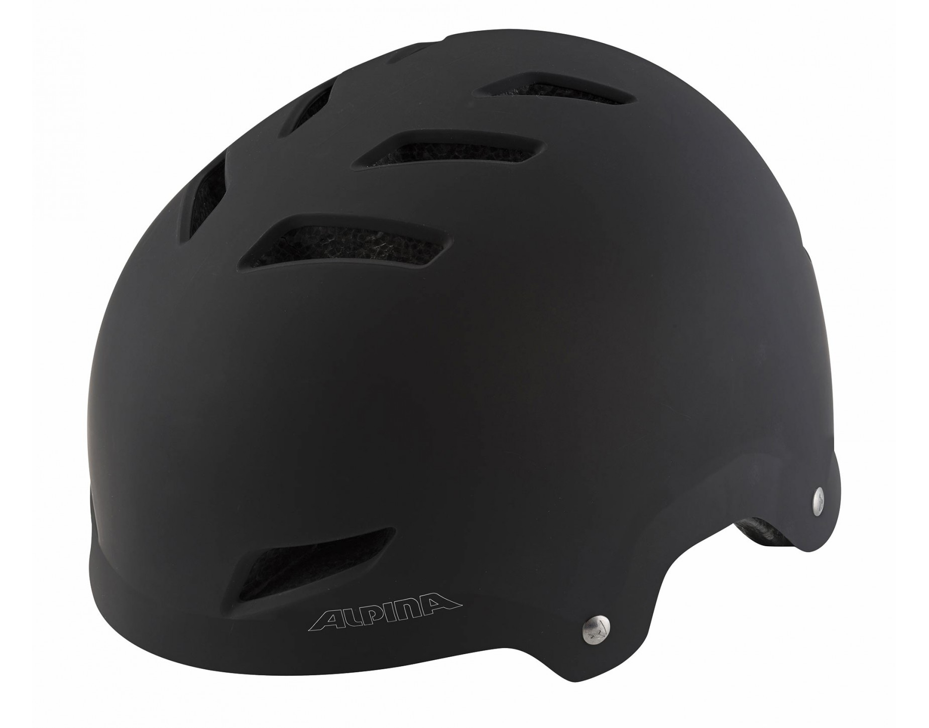ALPINA PARK JR Kinderhelm black matt