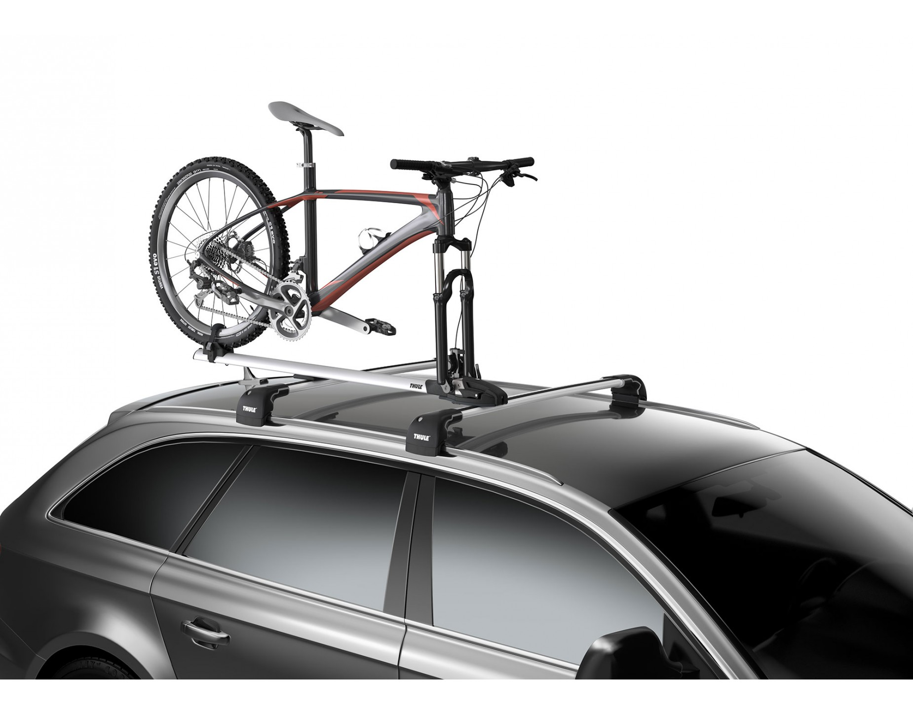 thule thruride 565 roof rack everything you need rose bikes. Black Bedroom Furniture Sets. Home Design Ideas