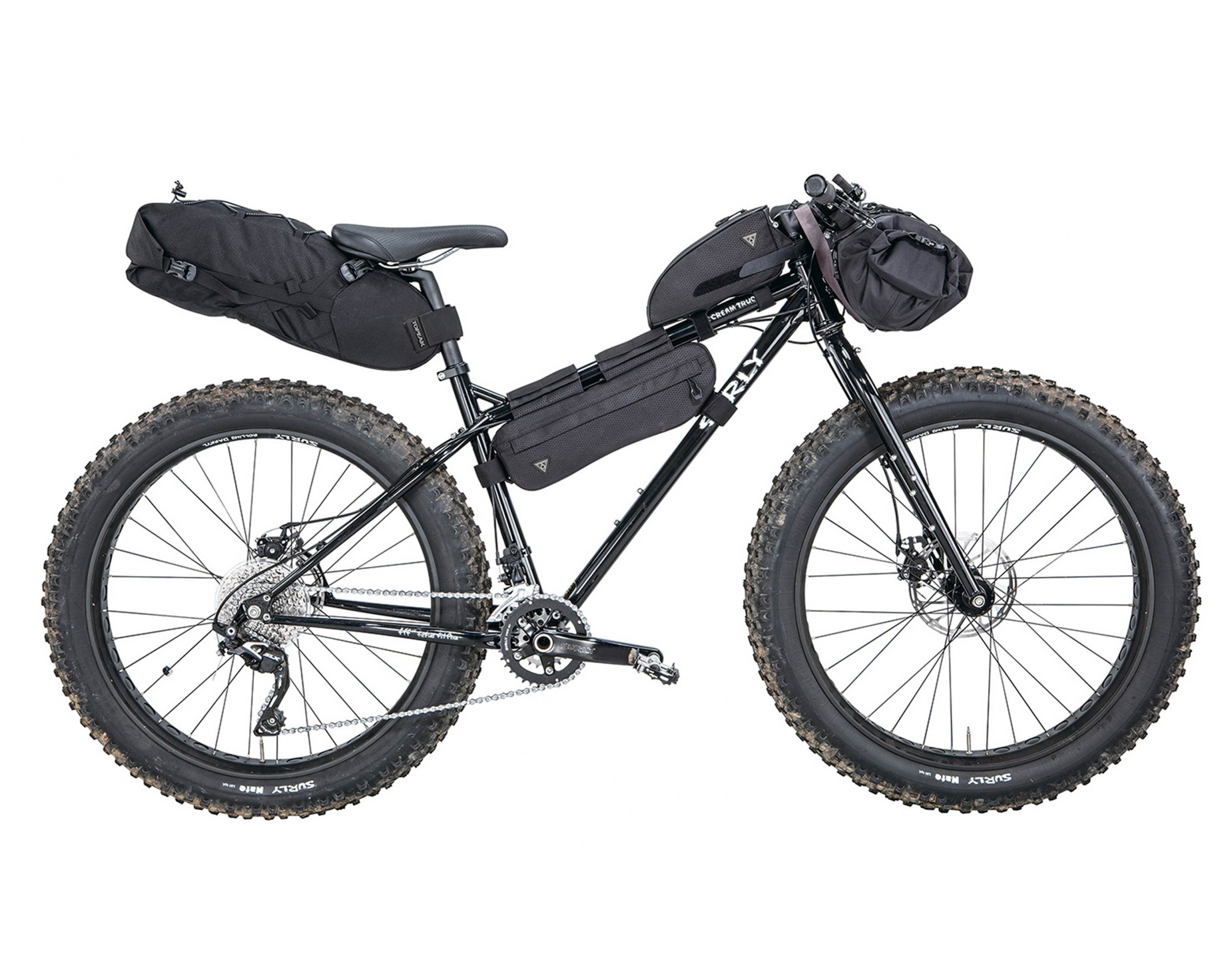 Topeak Midloader Bicycle Frame Bag Everything You Need Rose Bikes