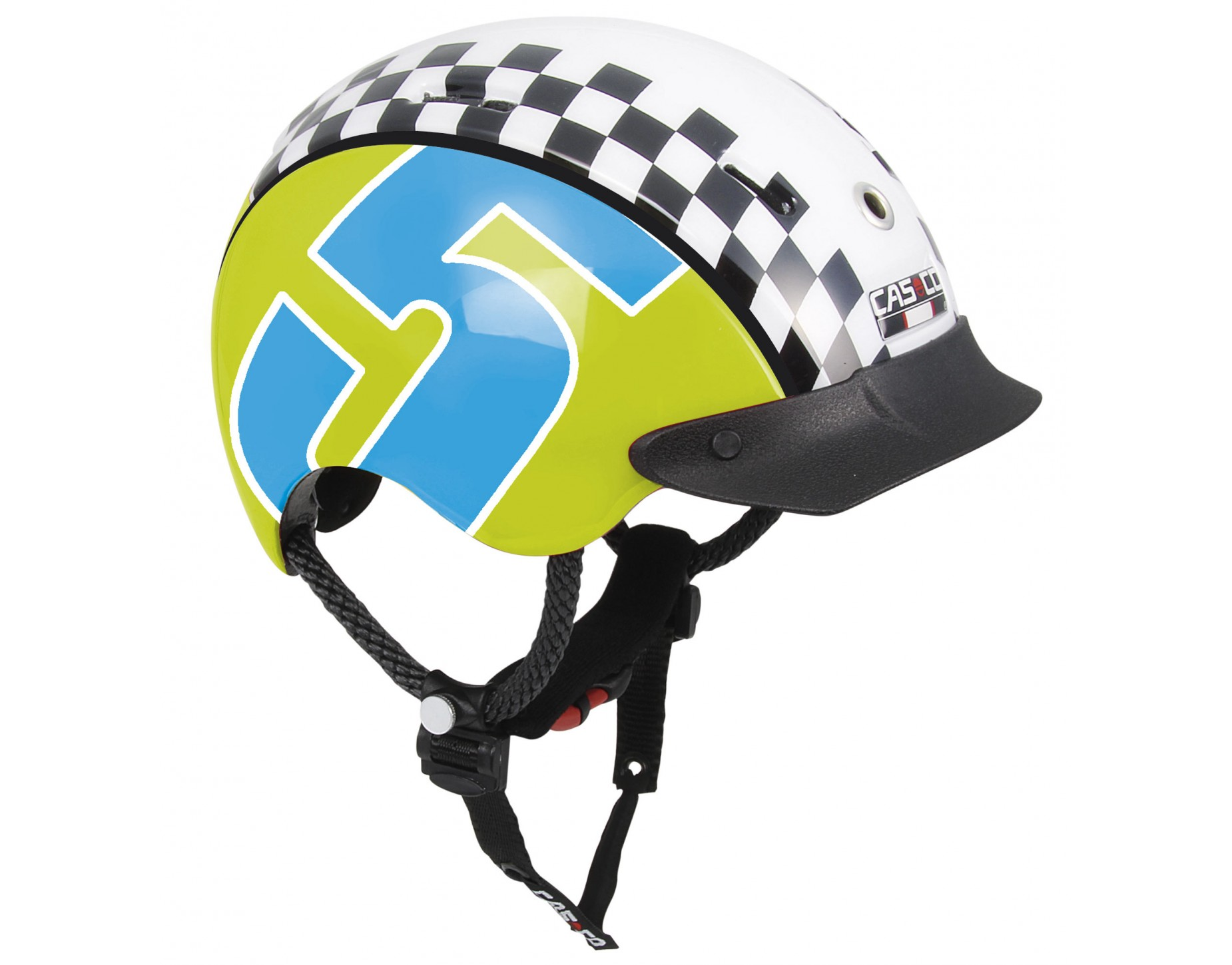 CASCO Mini Generation kinderhelm Racer 5 grün blau