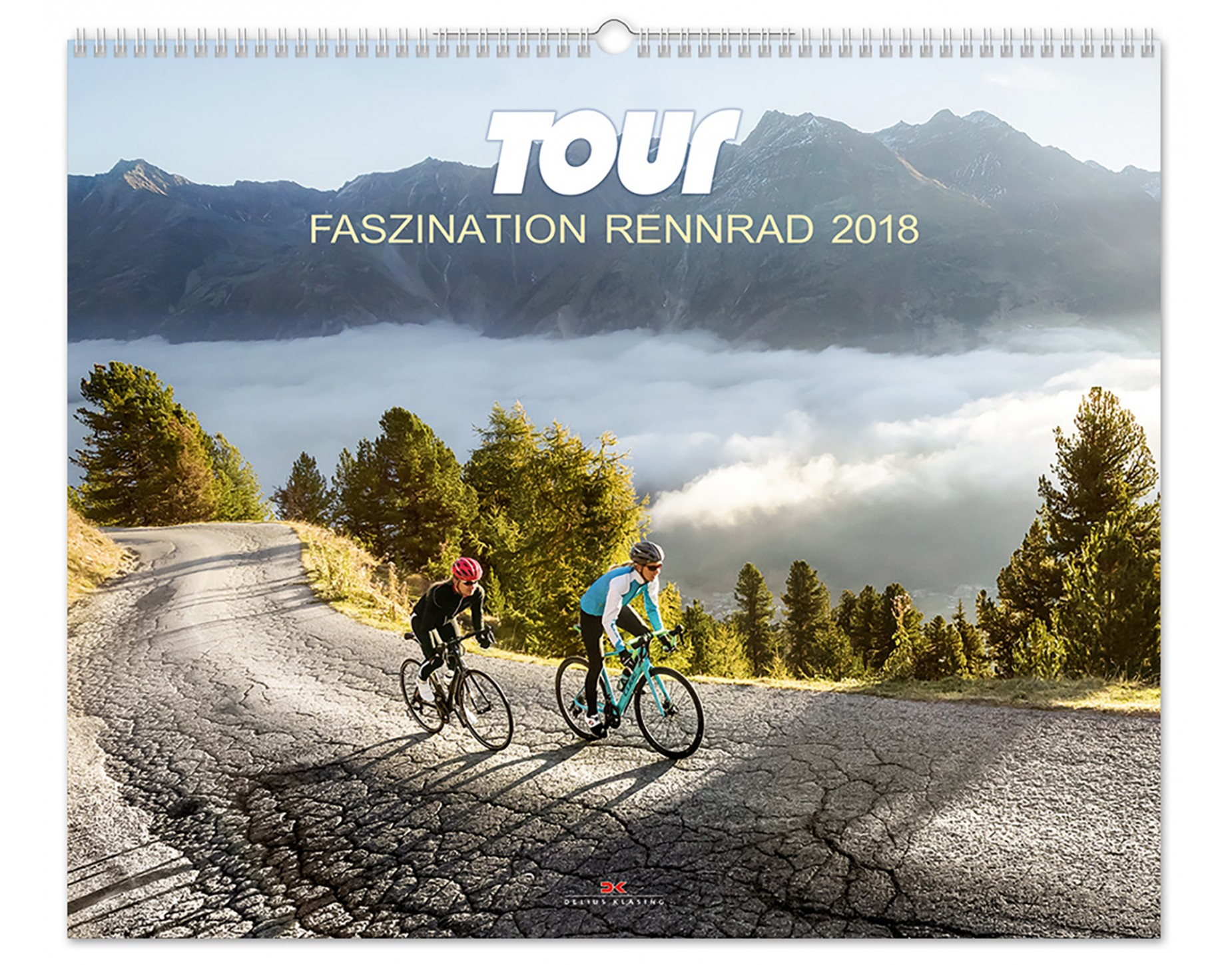 delius klasing tour road bike fascination 2018 calendar everything you need rose bikes. Black Bedroom Furniture Sets. Home Design Ideas