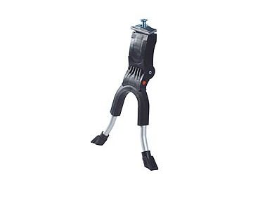 Hebie 690 two-legged kickstand for a max. BB height of 29 cm black