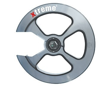 Xtreme chain guard II - anello protezione corona transparent