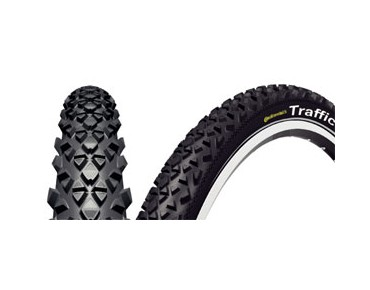 Continental Traffic Reflex mountain bike tyre  schwarz