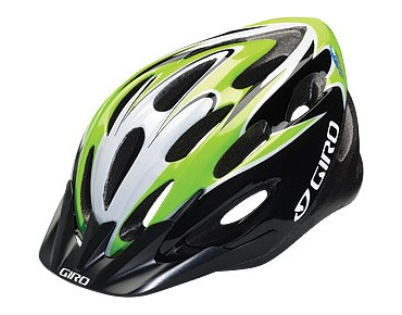 GIRO Sporthelm INDICATOR black/lime