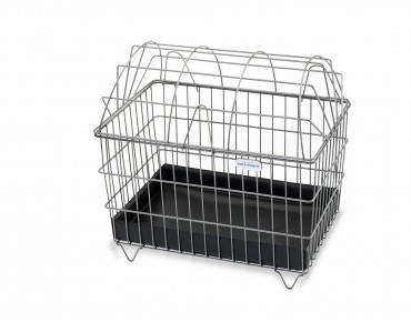 Zinsmayer dog basket black