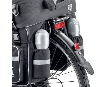 ROSE - The touring companion - bicycle pannier set (set of 3) black