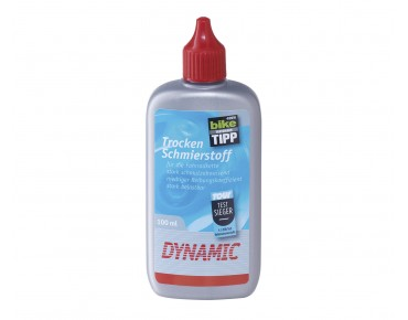 Dynamic dry-film lubricant for chains